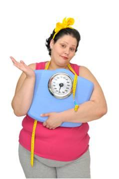 tučná žena chce schudnúť