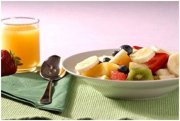 ovocný tanier - detoxikačná diéta