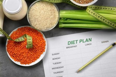 DASH dieta - potraviny na chudnutie, plán