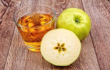 jablkova šťava a jablko pri diéte
